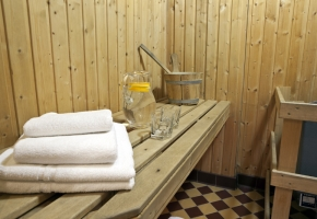New Sauna Bathroom
